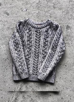 Вязаний, преміальний дитячий светр burberry