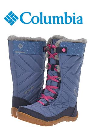 Columbia ботинки сапоги зимние оригинал р.34
