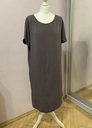Платье футболка вискоза
