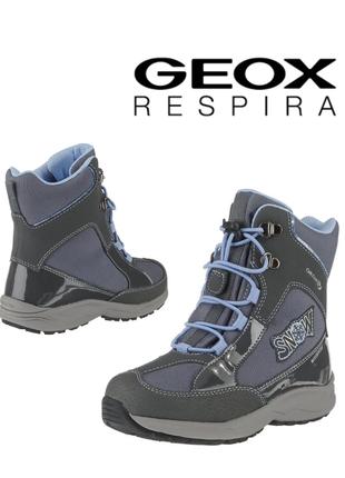 Geox ботинки сапоги зимние оригинал италия р.32,33