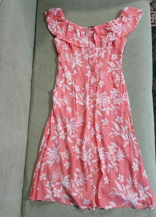 Новое,вискозное платье,сарафан new look