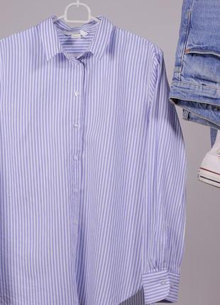Полосата сорочка h&m