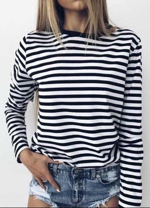 Легкая кофточка-морячка