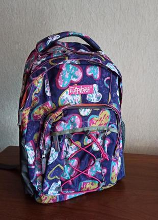 Новый рюкзак explore женский