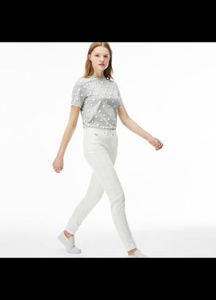 Скинни lacoste live stretch denim jeans