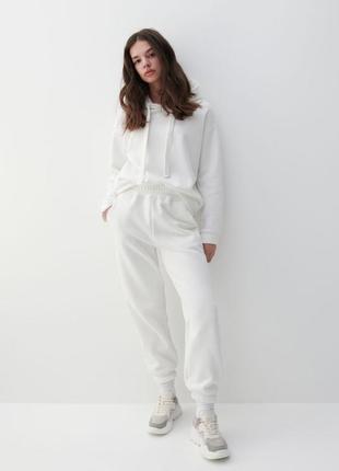 Джоггеры/ штаны с теплого трикотажа