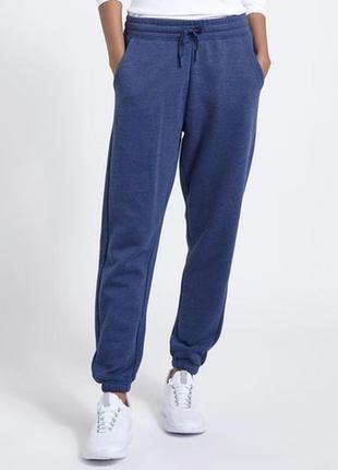 Размер м утепленные брюки-джоггеры с манжетами