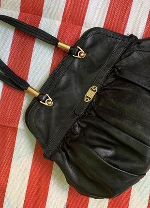 Шикарная люксовая большая  кожаная сумка modalu london  /натуральная кожа /стильная вещь