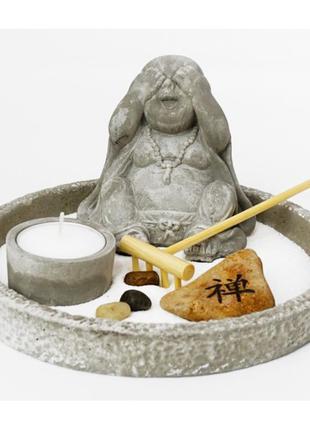 Сувенир песочный сад камней дзен набор ничего не вижу