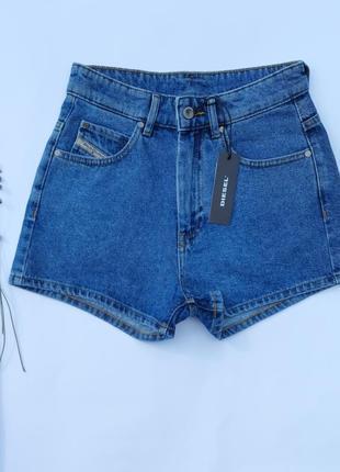 Diesel джинсовые шорты шорты mom оригинал