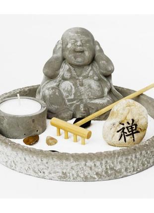 Сувенир сад камней набор дзен ничего не слышу