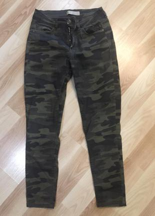 Камуфляжные крутые штаны dilvin