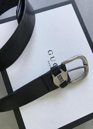 Кожаный ремень из натуральной кожи levi's винтаж