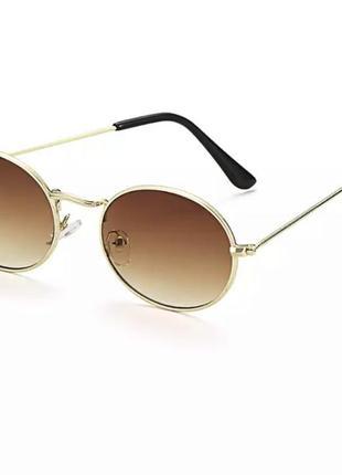 Стильные трендовые солнцезащитные очки овальные ray ban oval