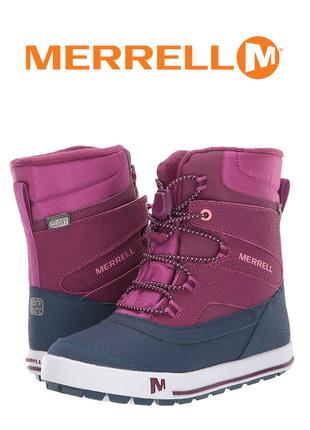 Merrell сапоги ботинки зимние оригинал р.34