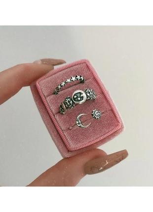 🔗набор колец кольца набор колечек нобор колец трендовое кольцо базовое кольцо