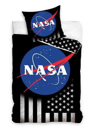 Постельное белье nasa 140x200 полуторный комплект для исследователей космоса