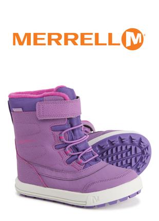 Merrell ботинки сапоги зимние оригинал р.28