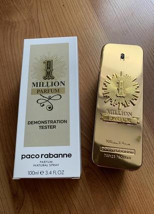 Мужские духи paco rabanne 1 million parfum tester 100 ml.