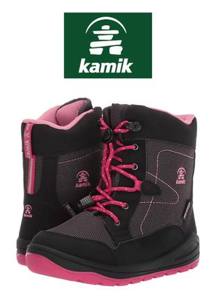 Kamik ботинки зимние оригинал р. 35