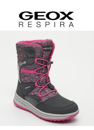 Geox ботинки сапоги зимние оригинал италия р.31