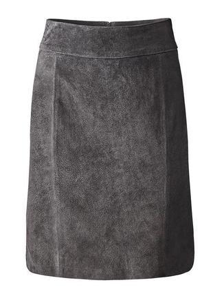 Кожаная юбка от tcm tchibo размер: 44