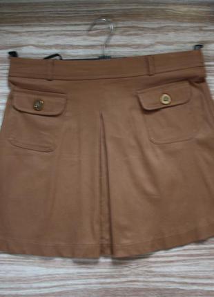 № коричневая мини юбка  atmosphere