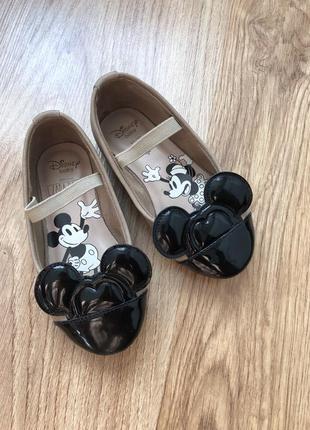 Туфлі zara disney baby