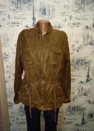 Женская курточка жакет летний