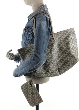 Редкая мульти лого сумка goyard мессенджер + клатч кошелёк рюкзак
