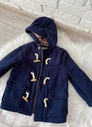 Осеннее пальто на мальчика 2-3 года m&s