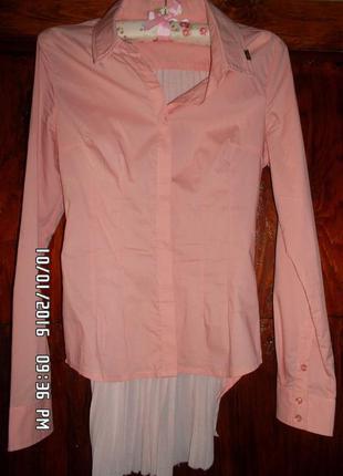 Блуза с оригинальной спинкой (eighth sin, италия). р.s