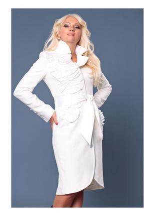 Кашемировое нарядное пальто