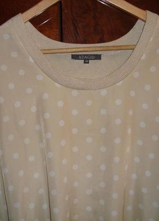 Симпатичная блуза футболочка adagio