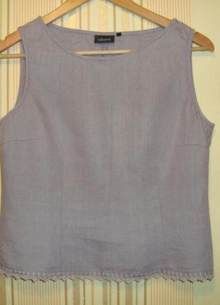 Льняная блуза топ silkwear