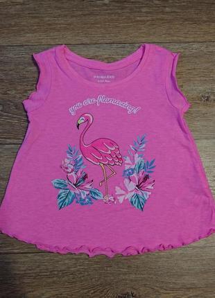Очень красивая маечка с фламинго 🦩