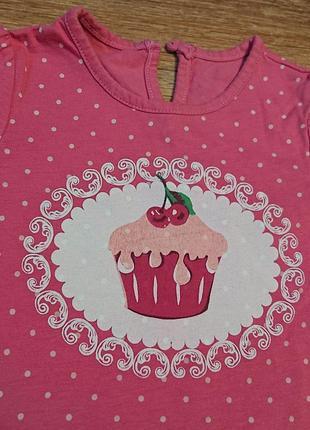 Качественная футболка для девочки майка платье сарафан