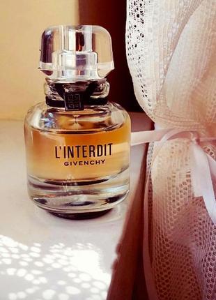 L'interdit givenchy крутой женский парфюм из дубая,духи женские,парфюм на лето