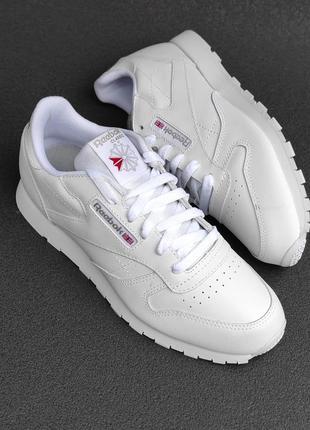 Оригінальні шкіряні кросівки reebok 50151