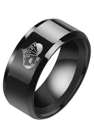 Мужское кольцо из нержавеющей стали abaccio k146 р-ры 9, 10, 11 и 12