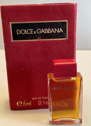 Dolce & gabbana 5 ml edp мініатюра