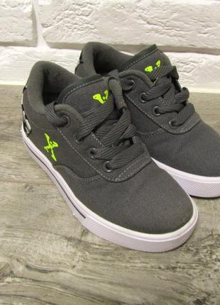 Кеды ботинки кроссовки ролики с колесами sidewalk sports be heelys