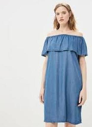Платье, лен, zara