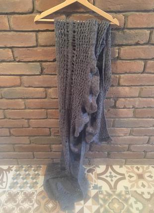 Тёплый большой шарф benetton