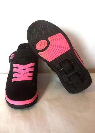 Роликовые кроссовки на колёсиках / ролики heelys, сша, р.31 код w3105