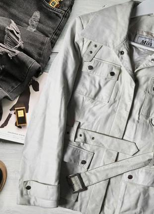 Итальянская кожаная куртка, р. s/m