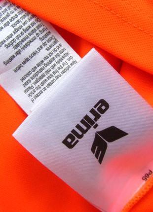 Спортивная футбольная кофта свитшот лонгслив бомбер мастерка на локтях мягкие ставки erima3 фото