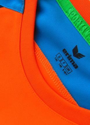 Спортивная футбольная кофта свитшот лонгслив бомбер мастерка на локтях мягкие ставки erima4 фото