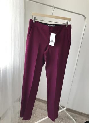 Zara брюки прямого кроя
