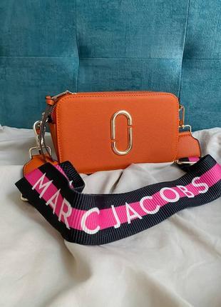 🔥🔥🔥женская сумка в стиле marc jacobs orange